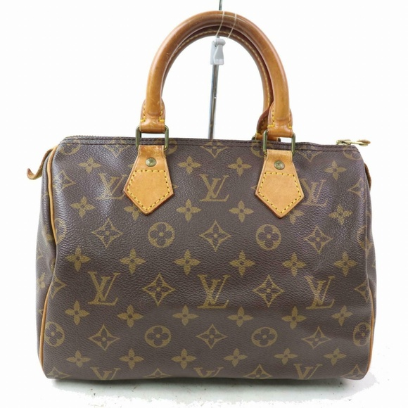 Louis Vuitton Handbags - Auth Louis Vuitton Speedy 25 Hand Bag #1402L17